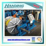 Máquina que enrolla motorizada encajonada del cable