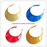 Pare-soleil en plastique de chapeau de PVC de mode bon marché d'usine de qualité