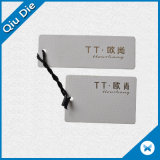 Étiquette d'impression imprimée de haute qualité Étiquette de suspension pour vêtements / vêtement