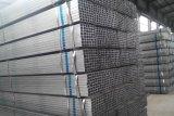 Tubi dell'acciaio del quadrato del tubo del quadrato nero del metallo della struttura della costruzione di buona qualità