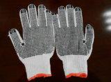 2017 Ddsafety отбеливатель трикотаж хлопок строка точек из ПВХ рабочие перчатки