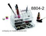 Organizador cosmético de acrílico elegante del maquillaje del organizador