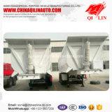 Qilin 30t - 60t Self-Discharging Chariot de transport de marchandises en vrac semi-remorque