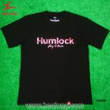 [هلونغ] شباب رياضات لباس أسود لون حراريّة طبق رجال [ت] قميص