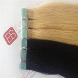 Jungfrau-Menschenhaar-Extensions-Band auf Haar