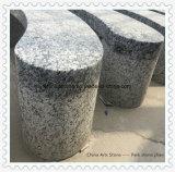 公園または庭のための花こう岩の石造りのベンチ