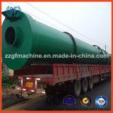 Equipamento orgânico de fertilizante para secador de tambor químico