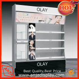 Gabinetes de indicador cosméticos cosméticos modernos da mercadoria da prateleira para lojas
