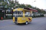 Jiejing in de Aanhangwagen van het Voedsel van China Mobile voor Verkoop wordt gemaakt die