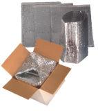 As protecções da Caixa de isolamento térmico / Saco de isolamento de bolhas de folhas