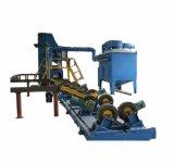 48mm-1400mm da série de tubos de aço Granalhagem máquina de limpeza para fora