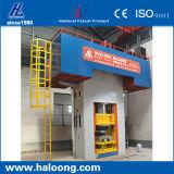 Prensa de forja en caliente de dispositivos de amortiguación con la prensa del calor de la máquina