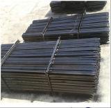 Черный пикетчик столба битума y стальной/звезды Австралии 1650mm