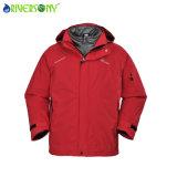 Sympatex 228t Nylon Taslon / PU transpirable 3 en 1 chaqueta