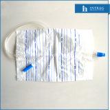Steriler Wegwerfentwässerung-Beutel mit Gegentaktventil