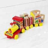 أحدث مجموعة قطارات خشبية بتصميم