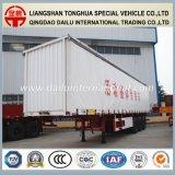 3 de Zij Semi Aanhangwagen van de Aanhangwagen van de Vrachtwagen van het Gordijn Alxe