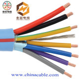 Cable de control PVC Multicore cable de cobre 450 / 750V