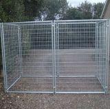 perrera y jaula, casa del perro de los 6FT Lowes de perro soldada del acoplamiento de alambre