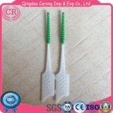 OEM nuevo diseño de tipo I de silicona dental cepillo interdental