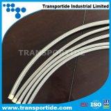 Mangueira de Teflon trançada do aço inoxidável PTFE de SAE100 R14