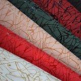 O elástico elevado do estiramento imita o couro do plutônio para o revestimento da roupa do vestuário