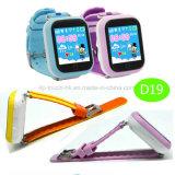 Téléphone coloré de montre d'écran tactile avec le bouton D19 de SOS