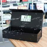 신식 대리석 무늬를 넣는 인쇄 적포도주 상자 7 인치 LCD 디스플레이 장방형 생일 선물 영상 상자