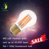 UL светодиодные лампы накаливания A15 6W очистить стекло лампы