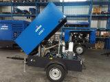 Compresor de aire diesel portable de Copco Liutech 180cfm del atlas para el martillo perforador