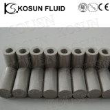 焼結させた粉のステンレス鋼の網によってプリーツをつけられるフィルター素子のろ過材