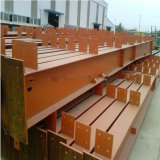 Estructura de acero de la alta subida prefabricada de varios pisos del bajo costo Q345b