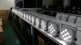 Indicatore luminoso senza fili impermeabile di PARITÀ di controllo 9*10W RGBW 4in1 LED del &DMX di &Battery per la fase