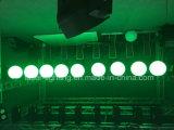 3 en 1 RGB LED multicolor de bola de elevación para el entretenimiento