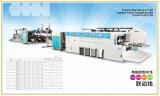Impression de couleur 6 automatique de vente chaude rainant collant la contre- machine d'éjecteur
