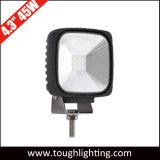12V 24V 4.3 Polegada 120 graus do feixe de Inundação Offroad Square luzes LED CREE