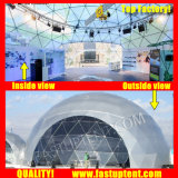 De duidelijke Transparante Witte Tent van Fastup van de Koepel van Geo van de Leverancier van pvc