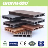 Grinwood bois Composite Decking solide en plastique