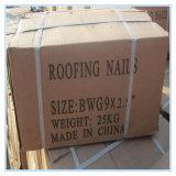"""Bwg 9 x 2.5の""""熱い販売の傘ヘッドねじれのすねの屋根ふきの釘"""