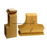 유리제 로를 위한 다루기 힘든 실리카 벽돌
