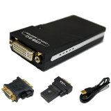 USB A HDMI/DVI-D o convertidor VGA