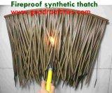 Thatch artificiale del Thatch sintetico della palma per il ricorso della glassa della barra di Tiki della capanna di Tiki
