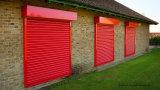 외부 집을%s 대담한 빨간 Prepainted Windows 롤러 셔터
