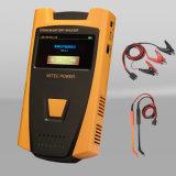Comprobador de baterías de portátiles / Analizador de baterías portátil