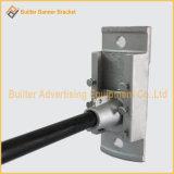 Mécanisme de bandeau publicitaire de Pôle de réverbère en métal (BS-BS-016)