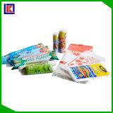 La coutume a estampé le sac en plastique de conditionnement des aliments de Vierge biodégradable de 100%
