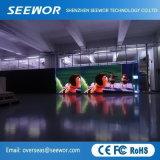 P10 en la pantalla LED de color al aire libre con carcasa de aluminio