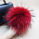 Custom Raccoon мех Pompom для Red Hat