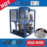10ton máquina de gelo do tubo com sistema PLC