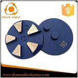 """disco di molatura del diamante dell'obbligazione del metallo di 3 """" segmenti per Concete"""